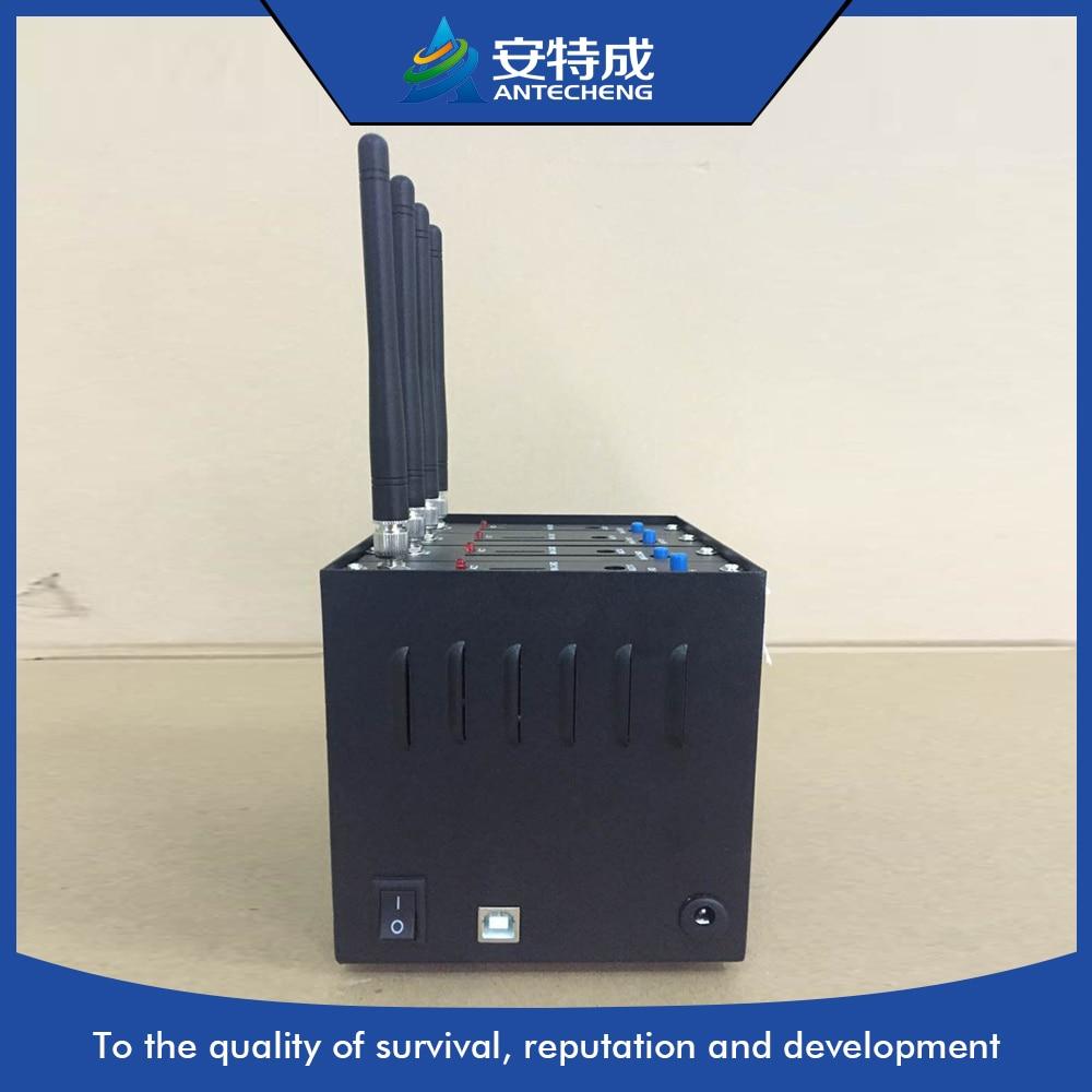 2017 new wireless modem Q2406B sim card machine 4 port bulk sms gsm modem