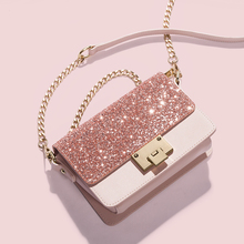 SMILEY SUNSHINE brand sequined women messenger bags 2017 summer small flap chains shoulder bags luxury ladies crossbody bags