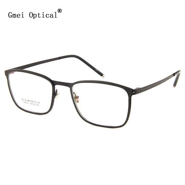 نظارة إطار معدنية ذات حافة كاملة من Gmei طراز LF2016 نظارات للنساء والرجال نظارات