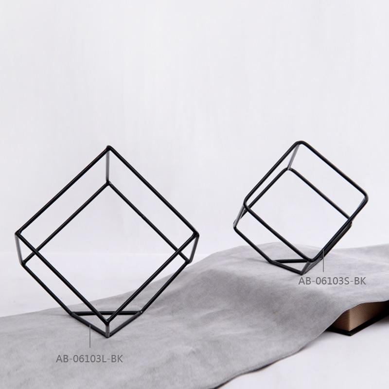 Envío Gratis Forma Cuadrada de Metal Ornamento Muebles Arte de ...