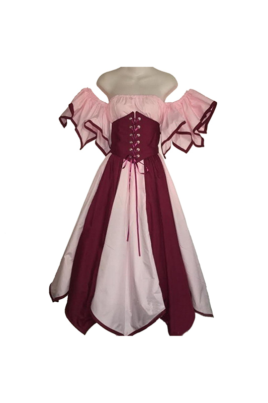 European Medieval Dresses Renaissance Victorian Dress Elegant Women For Party Strapless Dresses Costume