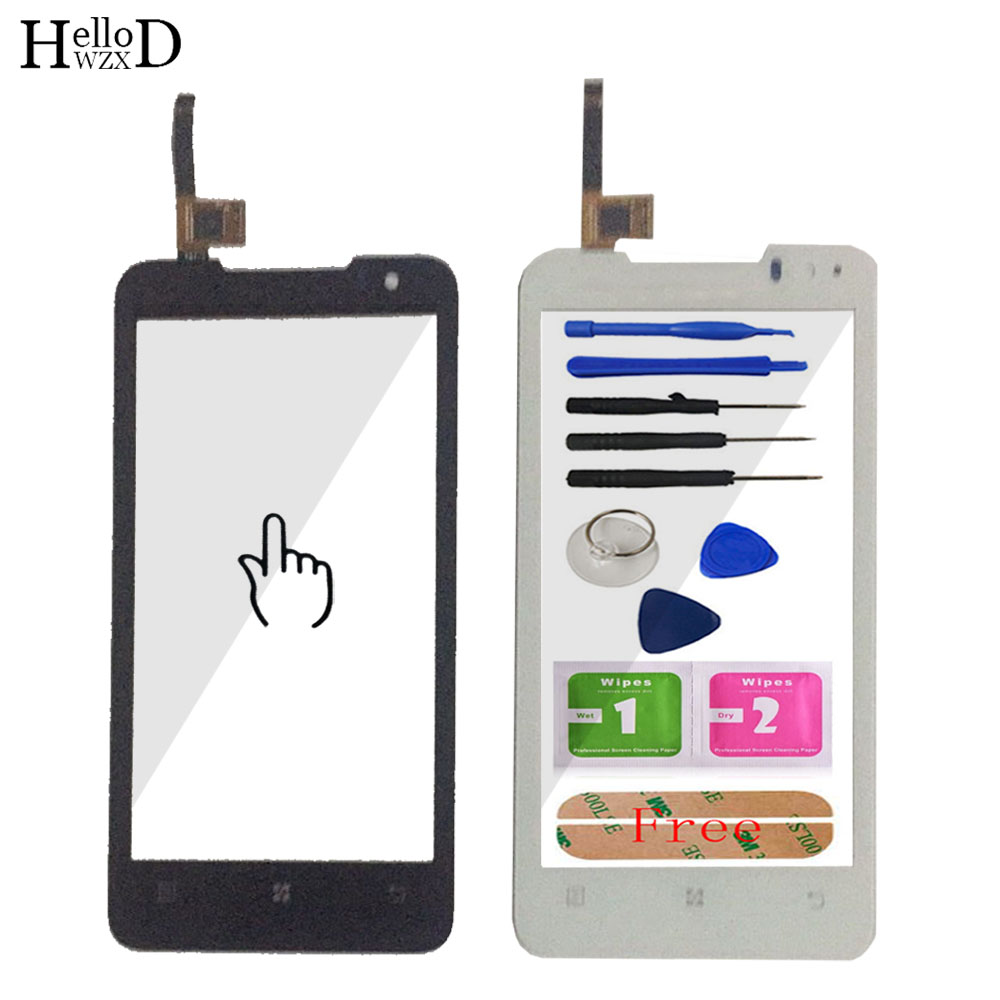 Mobile Touch Screen Digitizer For Lenovo P770 Sensor TouchScreen Front Glass Touch Panel Window Lens Sensor Adhesive