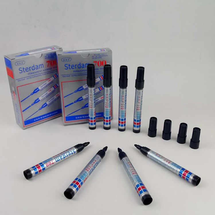 Satu Menuju Marker Pen Mark Berminyak Optical Disc Kaca Keramik Plastik Marker Logstics Marker Pen