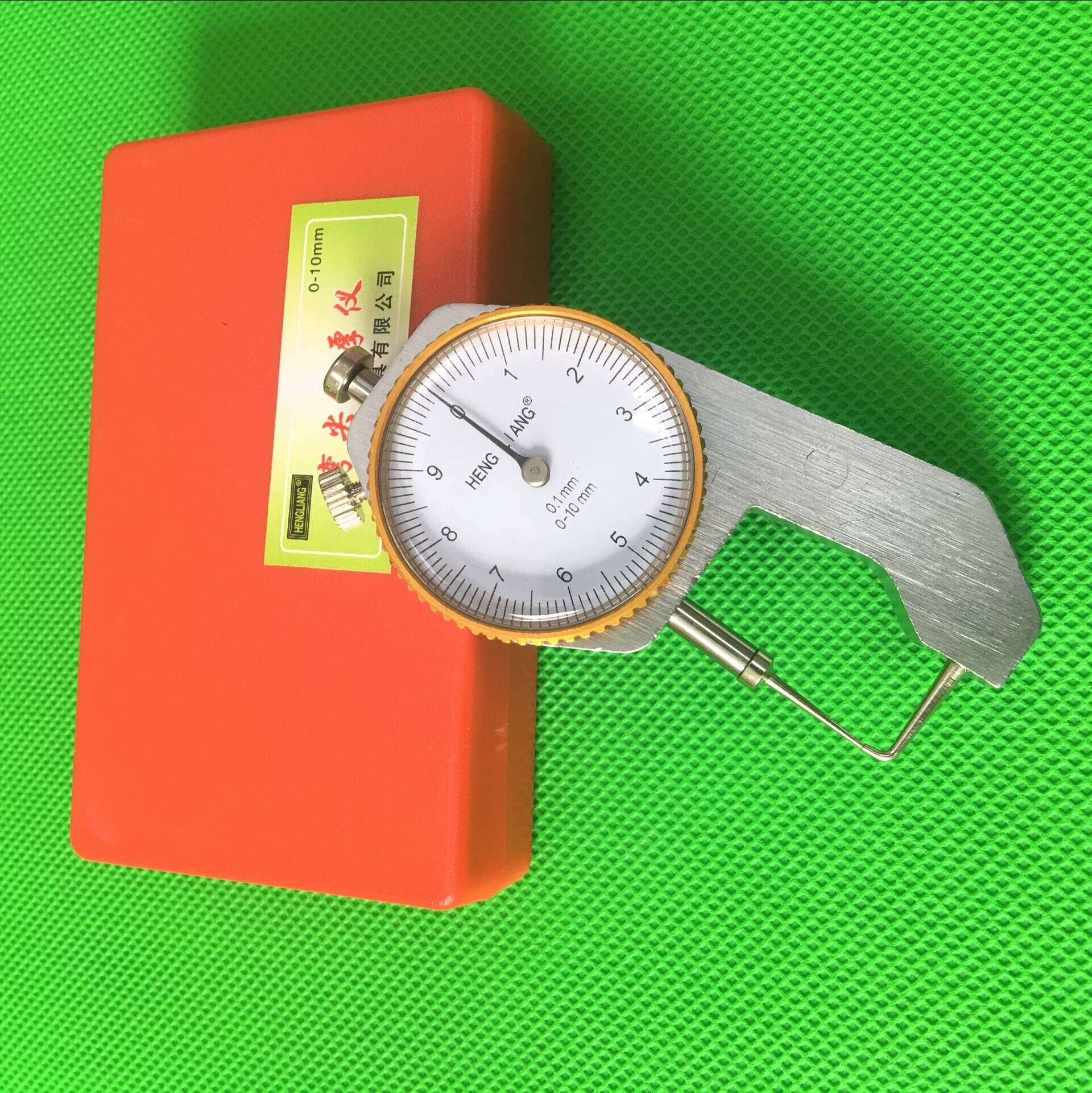 Dental Lab Caliper Measuring Precision 0-10*0.1mm Thickness Instrument Sharp Metal Watch Show Thickness Gauge