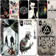 Caso de Para o iphone 5 4 6 7 8 Plus X Ultra Fino Linkin Park Chester Bennington Fazer Tampa Do Caso TPU Macio telefone Fundas Coque(China)