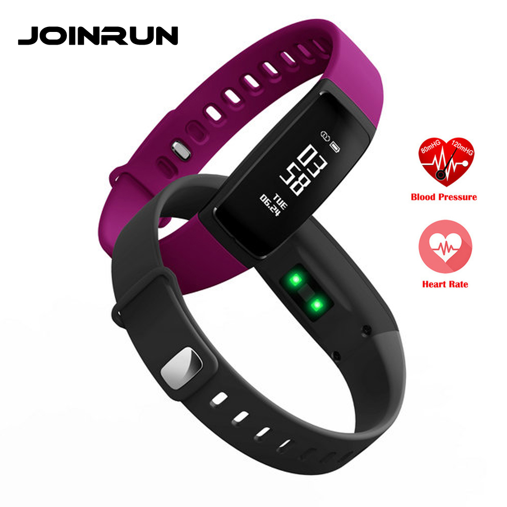 JOINRUN V07 Smart Wristband Blood Pressure Heart Rate Band Bracelet Waterproof Wristband Bluetooth Smartband For iOS Android