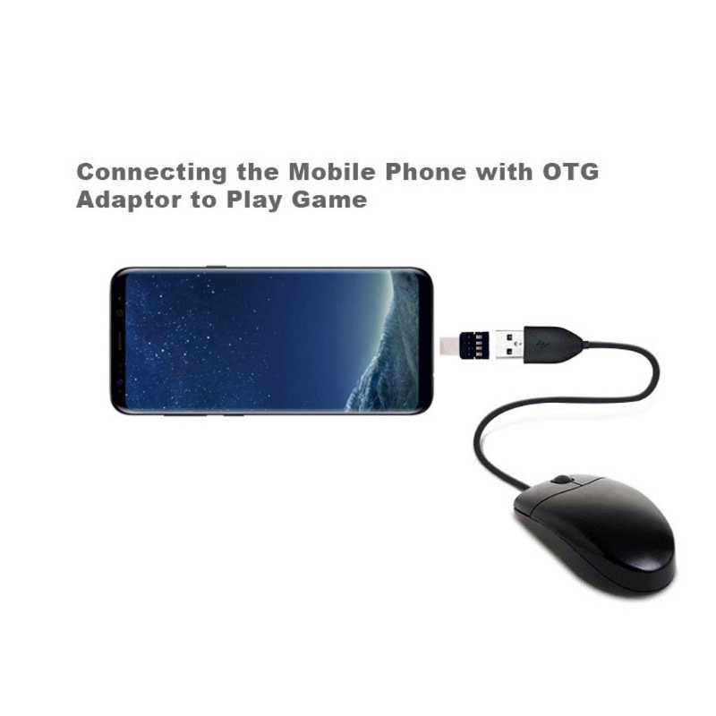 Type C To USB OTG Connector Adapter for USB Flash Drive S8 Note8 for Android Phone-U1JA
