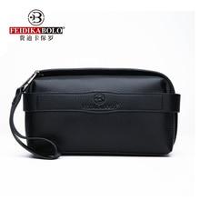 FEIDIKABOLO Genuine Leather Men's Clutch Bag Hot Selling Man