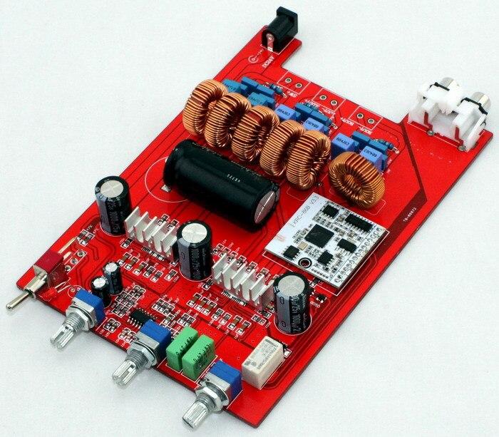 (100 W + 50 W * 2) DC18-24V 4A TPA3116 2.1 canaux carte amplificateur Bluetooth 160*108 MM