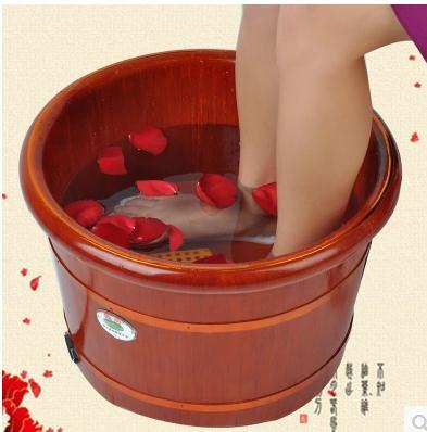 Barrel automatic heating massage foot bath barrels foot massage basin washing footbath deep barrel bubble footbath heat 38mm cylinder barrel piston kit