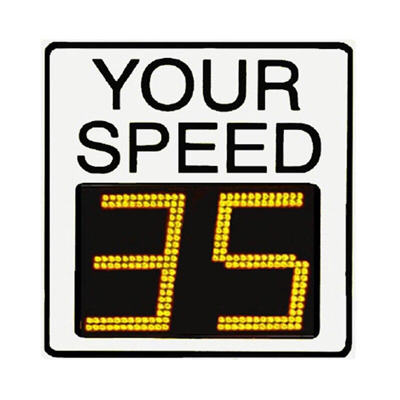traffic control driver feedback speed limit signs
