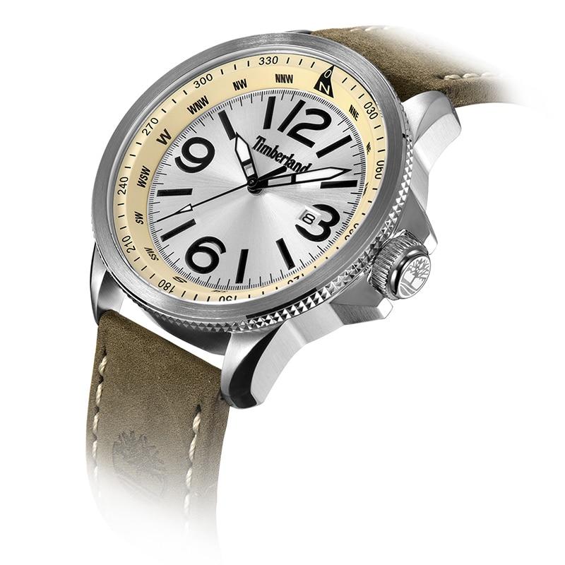 Timberland Original Mens Watches  Leather Calendar Casual Quartz Water Resistant Men's Watches T14247
