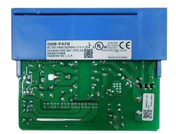 все цены на 100~240VAC 5VDC(2A) / +15VDC(0.5A) / -15VDC(0.2A) GM6-PAFB PLC Power module K200S онлайн