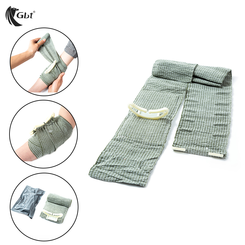 Outdoor FirstAid Hemostasis Military tourniquet Compression Bandage Sterilization One-handed operation Sterile  survivalOutdoor FirstAid Hemostasis Military tourniquet Compression Bandage Sterilization One-handed operation Sterile  survival