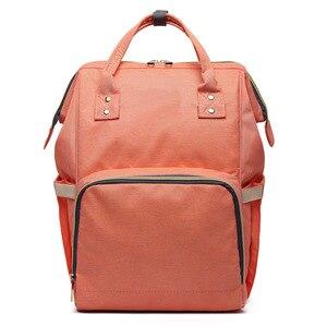 Image 4 - MOONBIFFY, модная сумка для подгузников для мам и мам, Большая вместительная детская сумка, рюкзак для путешествий, дизайнерская сумка для ухода за ребенком
