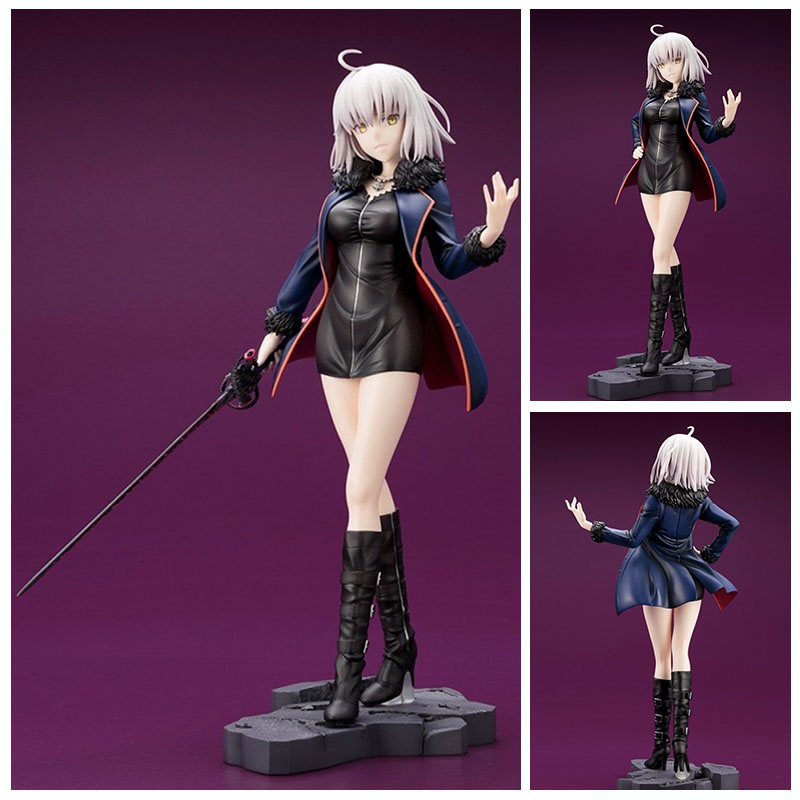 25CM Anime fate stay night figures Fate/Grand Order Joan of Arc casual wear ver. PVC action figure collection model toy anime figurine alter fate stay night archer blade works pvc action figure model toy 25cm