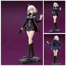 25CM Anime fate stay night figures Fate/Grand Order Joan of Arc casual wear ver. PVC action figure collection model toy