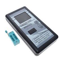 Многоцелевой тестер транзисторов 128*160 диодный Тиристор емкость резистор индуктивность измеритель MOSFET ESR LCR TFT цветной дисплей