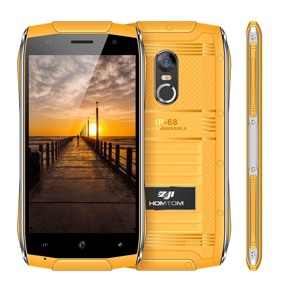 HOMTOM ZOJI Z6 4,7 Zoll Original Android Smartphone IP68 Wasserdicht 6,0 MTK6580 Quad Core 3G 1 GB + 8 GB Metallrahmen Handy