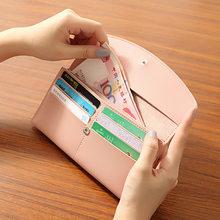 WESTERN AUSPICIOUS portfel damski czerwony różowy szary niebieski czarny kobiety torebka telefon komórkowy etui z miejscem na karty Carteira torebka o dużej pojemności