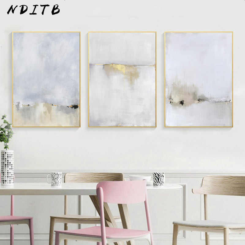 Watercolor Abstract Poster Canvas Realist  Art Decorative Print Wall Painting Nordic Decoration Picture Modern Living Room Decor