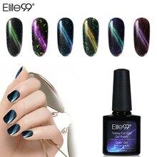 Elite99 лак для ногтей 10 мл Galaxy Гель-лак «кошачий глаз» замачиваемый Светодиодный УФ-гель для маникюра 6 цветов Vernis Полупостоянный верхний базовый слой