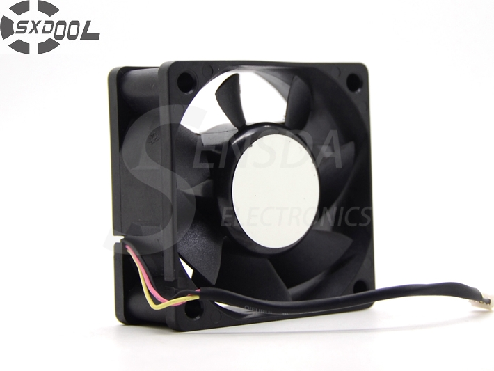 SXDOOL MGT6012MR-O25 <font><b>60</b></font>*<font><b>60</b></font>*25 <font><b>mm</b></font> 6025 60mm 6cm DC 12V 0.13A axial case projector cooling <font><b>fan</b></font> image
