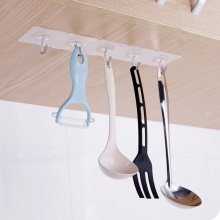Strong Kitchen Home Hooks Transparent Suction Cup Sucker Wall Hanger For Bathroom