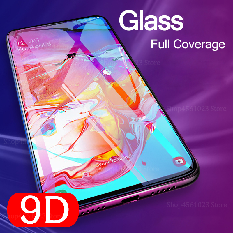 9D Full Glue For <font><b>Samsung</b></font> Galaxy A70 A40 A30 A50 Protective <font><b>Glass</b></font> On The For <font><b>Samsung</b></font> Galax <font><b>A</b></font> 50 30 <font><b>40</b></font> 70 50A 30A 70A Film Cover image