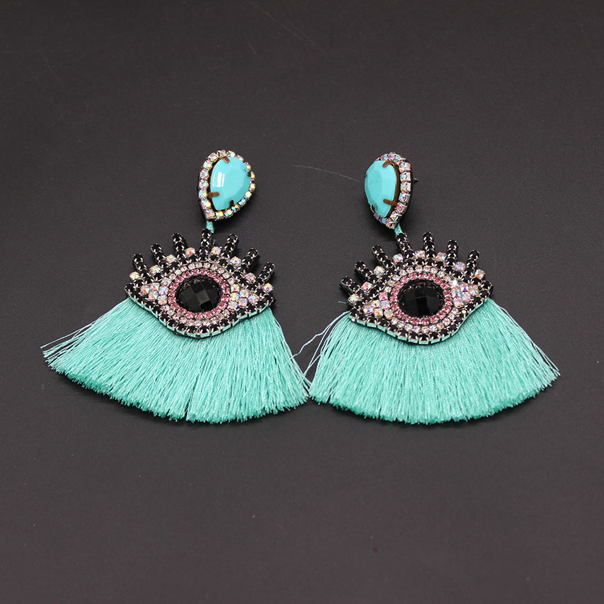 все цены на shourouk women new long tassel women bohemia handmade luxury statement stud earring 796 онлайн