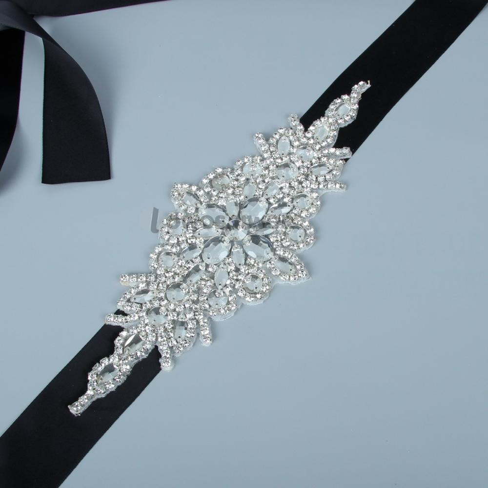 2018 New Arrival Luxury Artificial Handmade Crystals Beading Belt For Bride Wedding Belts&Sash Bride Exclusive