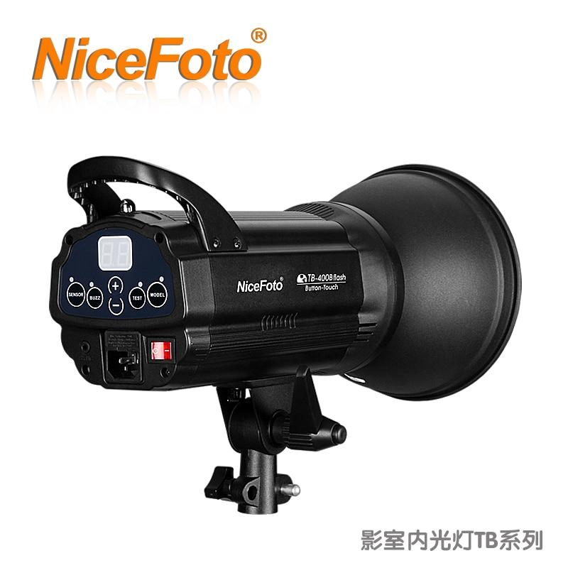 300w NiceFoto studio flash tb-300b portrait wedding dress 300w photography light equipment