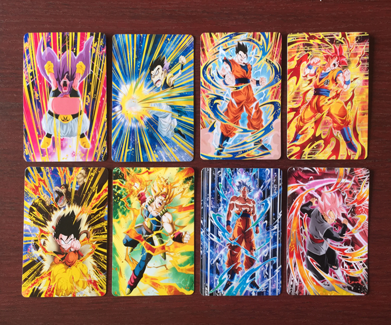 250pcs/set Super Dragon Ball Z Heroes Battle Card Ultra Instinct Goku Vegeta Game Collection Cards