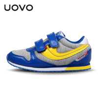 UOVO Autumn new boys shoes girls shoes children's casual sport shoes Breathable comfort sneaker for kids high quality shoes