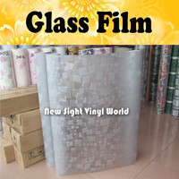 Frosted Window Privacy Film Glass Fablon Self Adhesive Vinyl Decal Size 90CM 50M Roll