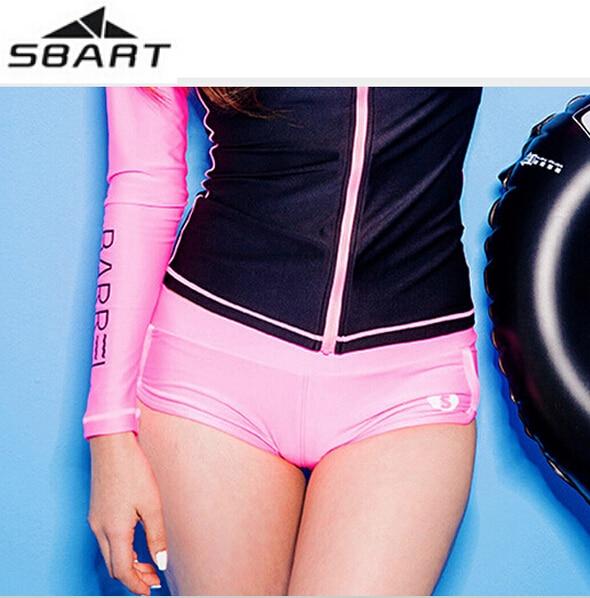 SBART New Style Briefs Womens Swim Pants Beach Shorts Summer Style Shorts Surf Swimwear Swimsuit Quick