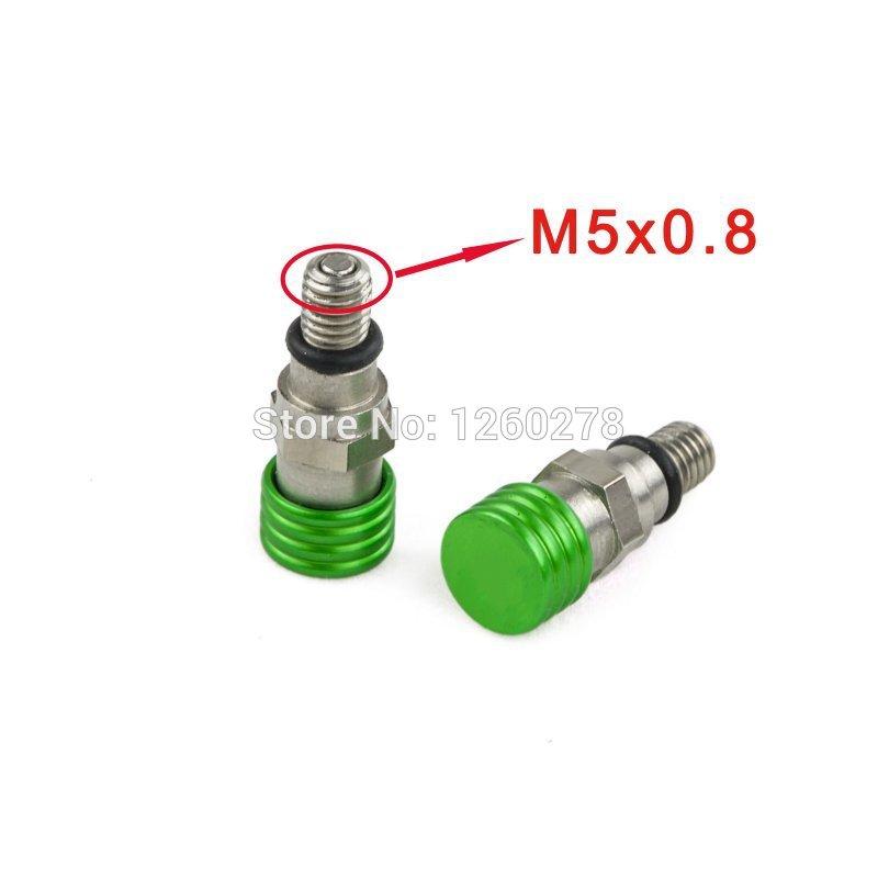 M5x0.8 Gabel Entlüfter Für Kawasaki KX KLX KDX 65/85/125/140/250/450 ...