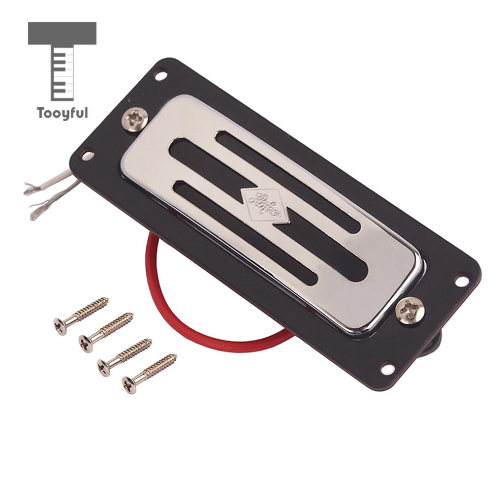 Tooyful Toaster Humbucker Pickup Frame Ring Screw for Hofner Electric Guitar Bass Replacement 10 pcs pickup mounting ring single coil frame for electric guitar parts pearl red black white blue green cream 3 ply