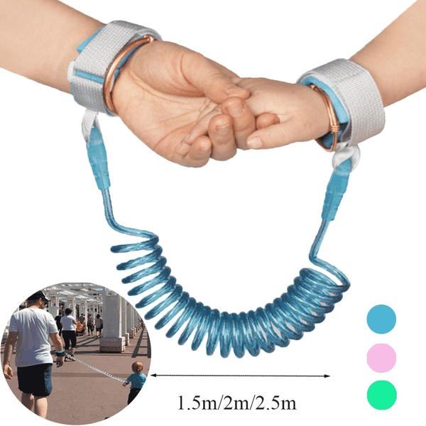 Baby Safety Harness Anti Lost Wrist Link Toddler Kids Baby Leash Safety Harness Belt Walking Assistant Baby Walker Wristband