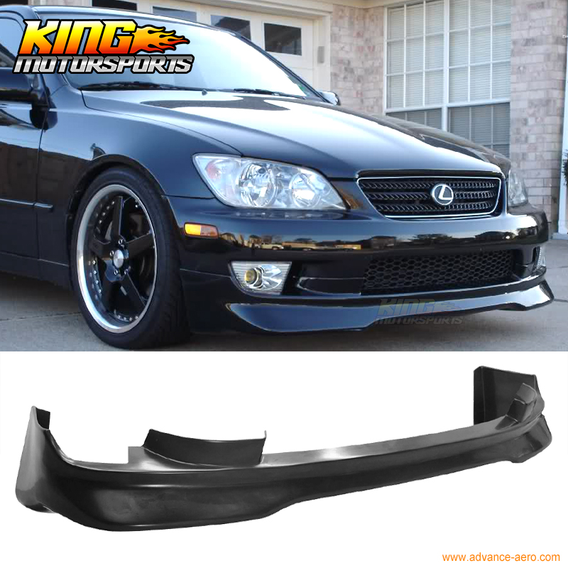 FOR 01-05 LEXUS IS300 FRONT BUMPER LIP SPOILER BODYKIT AMG STYLE URETHANE PU for porsche 996 911 turbo carrera 4 4s front bumper lip spoiler urethane bodykit global free shipping worldwide