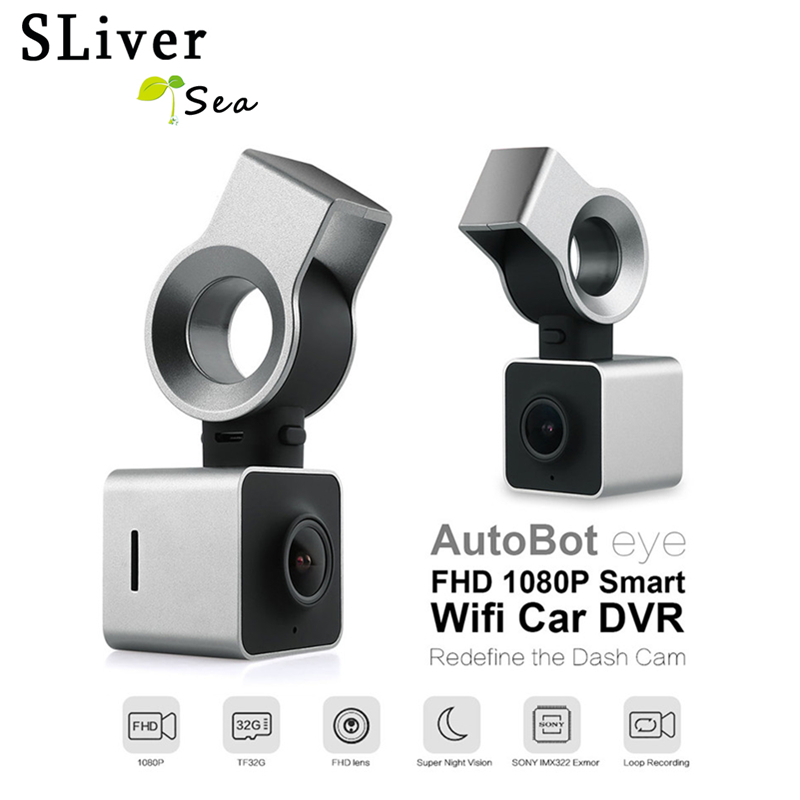 Autobot Eye FHD 1080P Smart Wifi Car DVR Auto Dash Camera Dashcam Video Recorder Digital G-Sensor GPS 150 Degree Night Vision цена