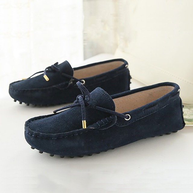 High Quality 2017 New Women Flats Genuine Leather Women Shoes Brand Driving Shoes Spring Summer Women Casual Shoes