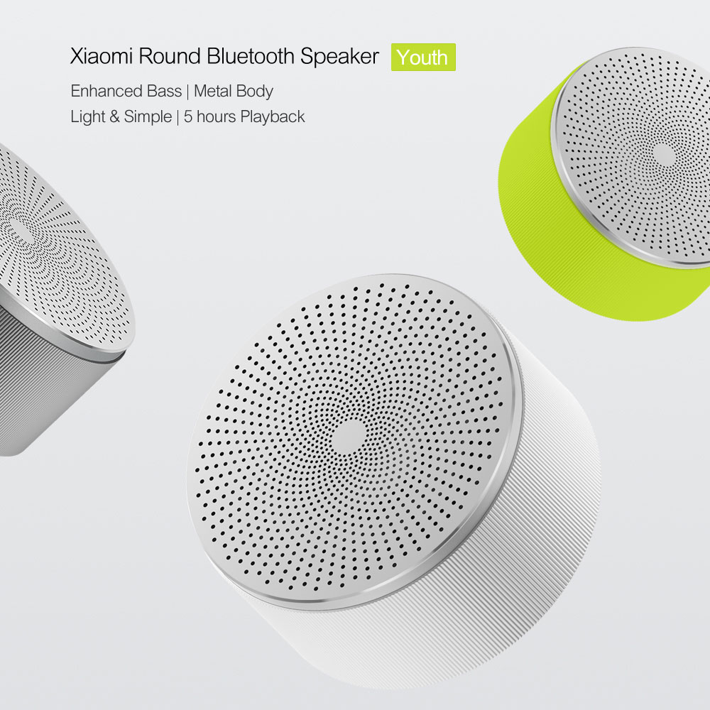 Xiaomi Mi Bluetooth Speaker Stereo Wireless Mini Portable Bluetooth Speakers Music MP3 Player Small Steel Round Speaker 100% Original  (6)