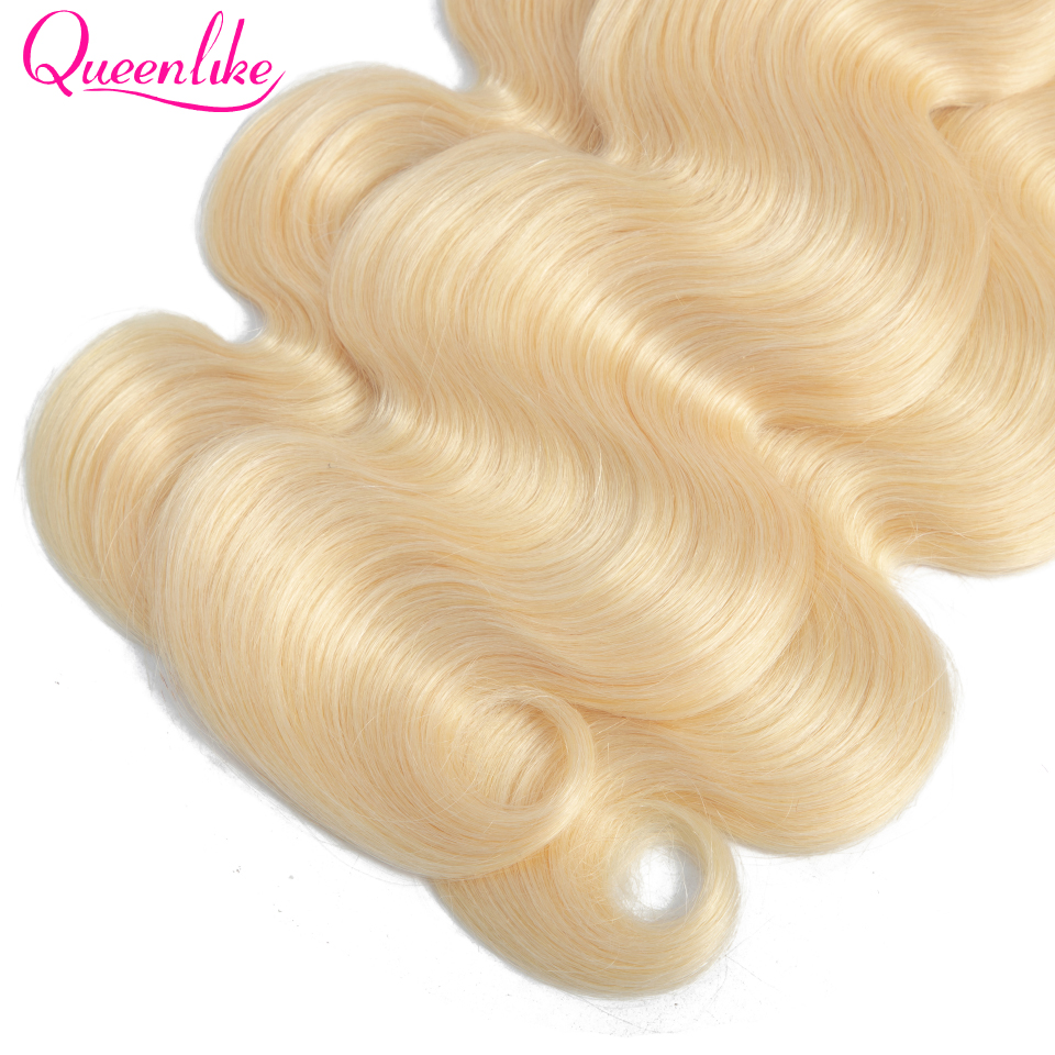blonde bundles with closure 13