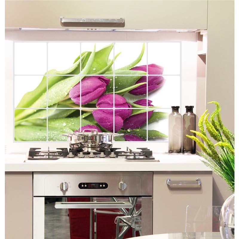 Popular Kitchen Wall Tile Stickers-Buy Cheap Kitchen Wall