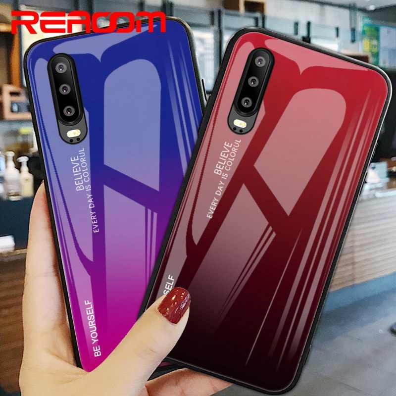 Tempered Glass Case For Huawei Honor 20 Pro Lite V20 8S Cover Protection Case For Huawei P20 P30 Lite P Smart Y9 2019 Nova 5 Pro