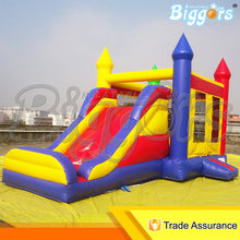 Sea Shipping Cheap Price Inflatable Jumping Bouncer Bounce House Bouncy Castle With Slide