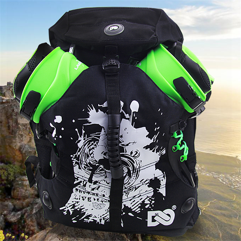 Image 3 - Quality outdoor roller skate shoes backpack with big size for sports camping men's backapck or women's for a variety of venues-in Skate Board from Sports & Entertainment