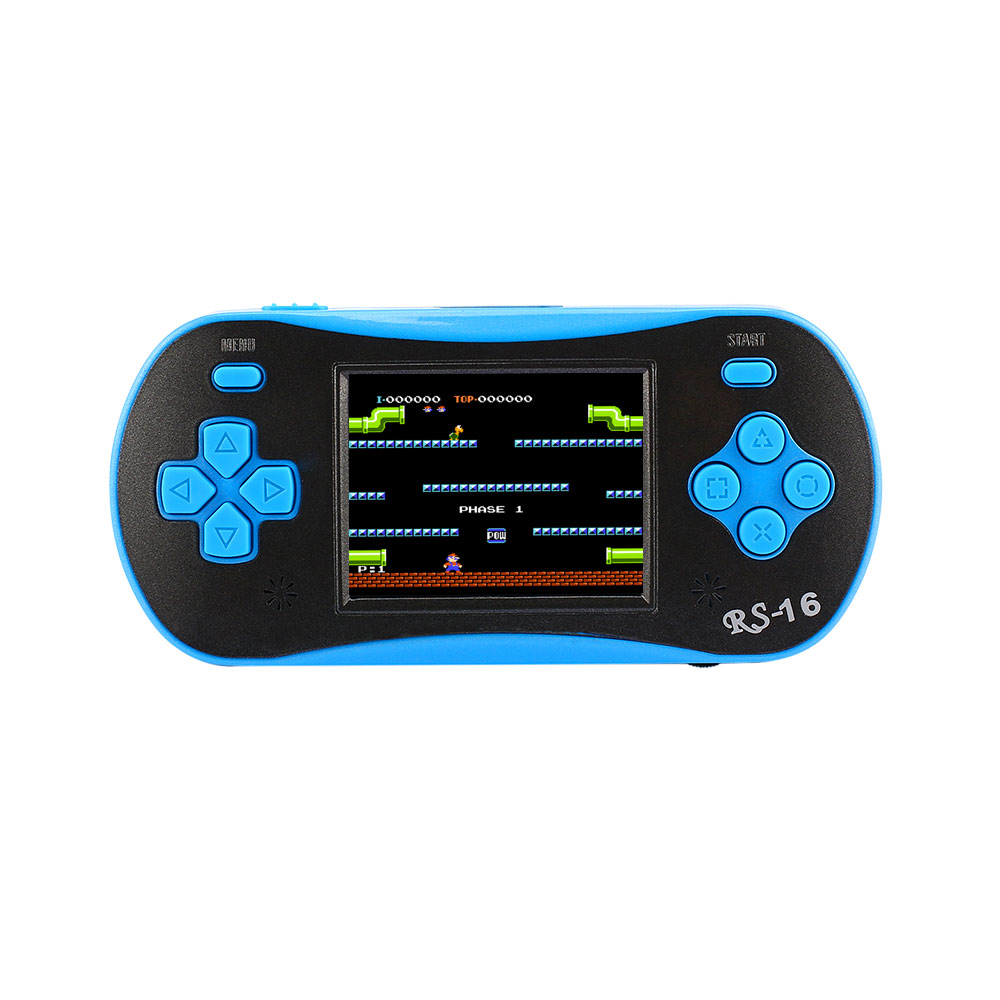 Original Mesuvida Childhood Classic 2.5 Inch With 260 Game 8-Bit PVP Portable Handheld Console