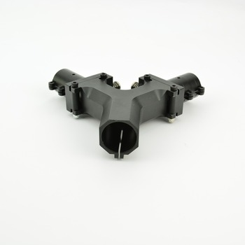 Multi-axis 30-25 horizontal folding block water diversion pipe holder aluminum alloy folding arm seat RC uav uavconnector